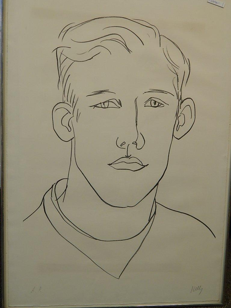 "Ellsworth Kelly ""David"" Artist's Proof"
