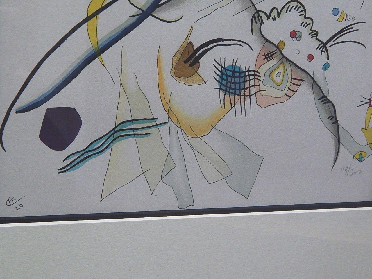 "Wassily Kandinsky ""Untitled"" 119/300 1920"