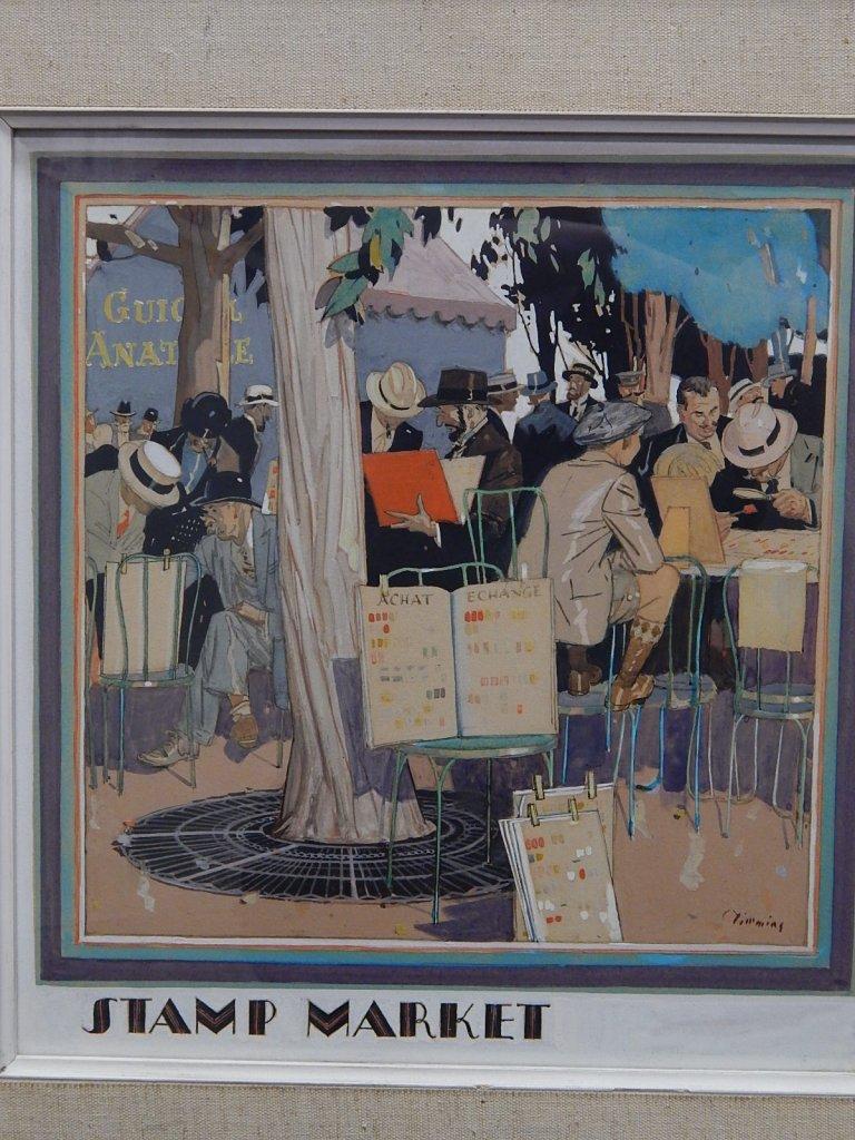 Harry L. Timmins Original Painting