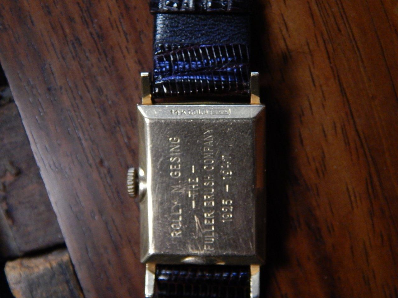 Hamilton 14k Gold Watch
