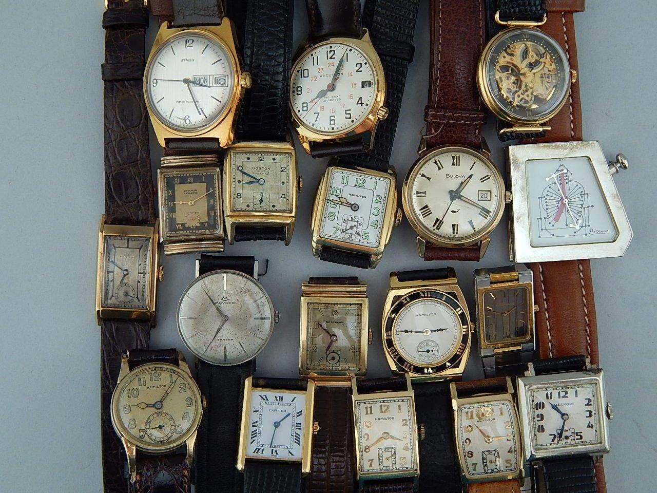 Watches Cartier Rolex