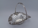 1809 Scottish Sterling Silver Basket