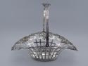 1809 Scottish Sterling Silver Basket