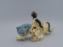 Shearwater Pottery Lady and Tiger