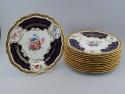 12 Handpainted Porcelain Plates