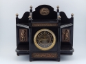 Black Onyx Mantel Clock