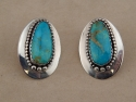 Sterling and Turquoise Earrings