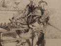 Ferdinand Roybet Etching