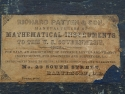 Richard Patten & Son Mathematical Instruments