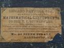 Richard Patten & Son Mathematical Instruments