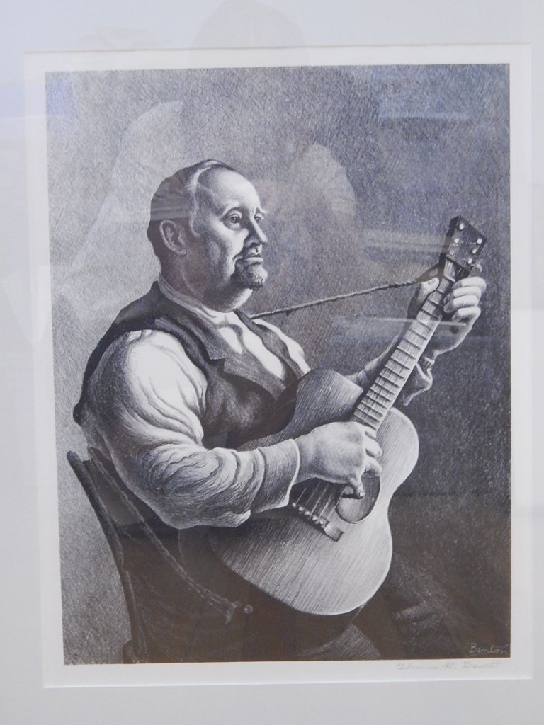 "Thomas Hart Benton ""The Hymn Singer"" 1950 FATH 74"