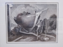 "Thomas Hart Benton ""Repairing the Sloop"" 1973 FATH 88"