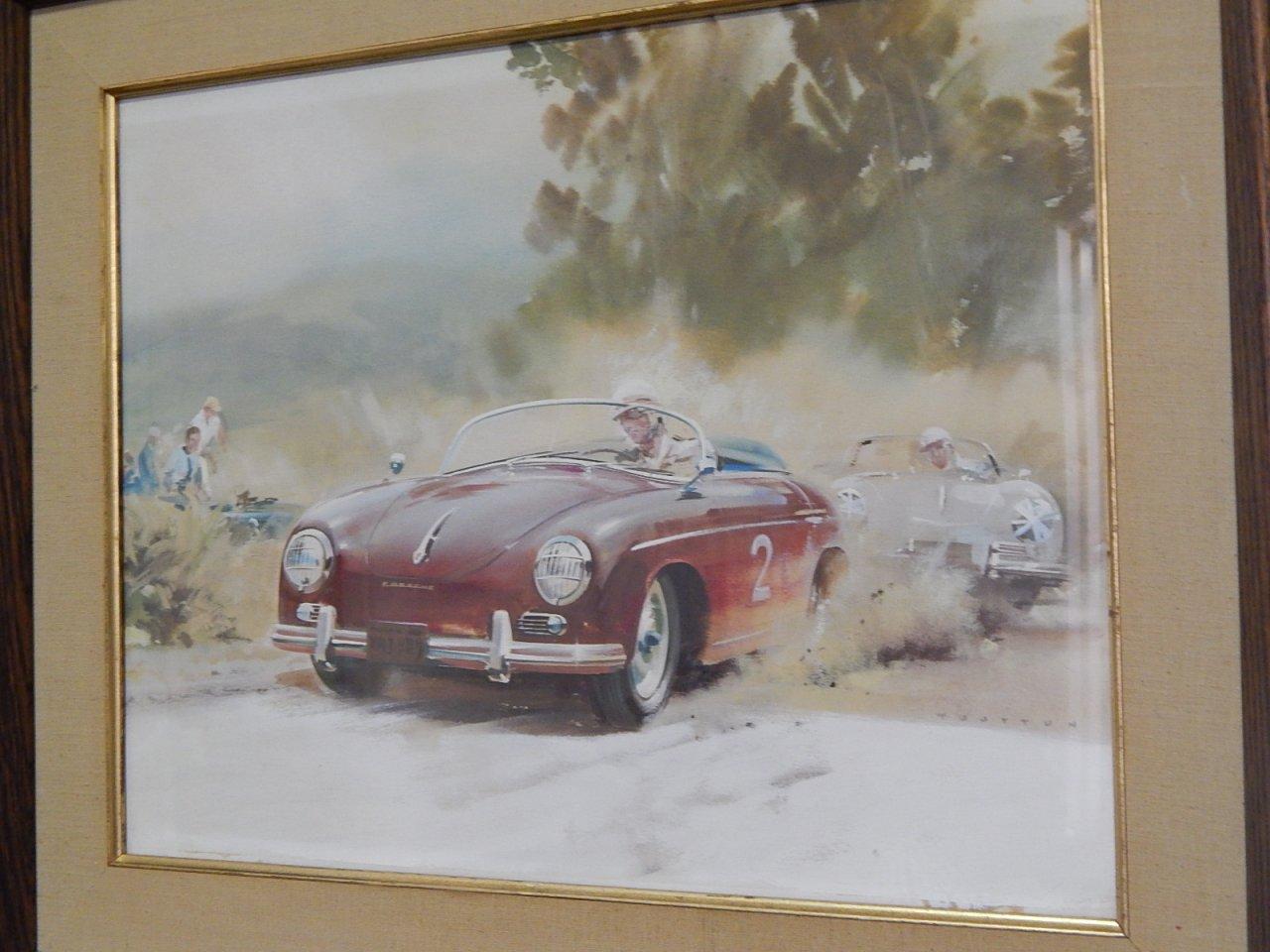 Frank Wootton Original Painting Porsche