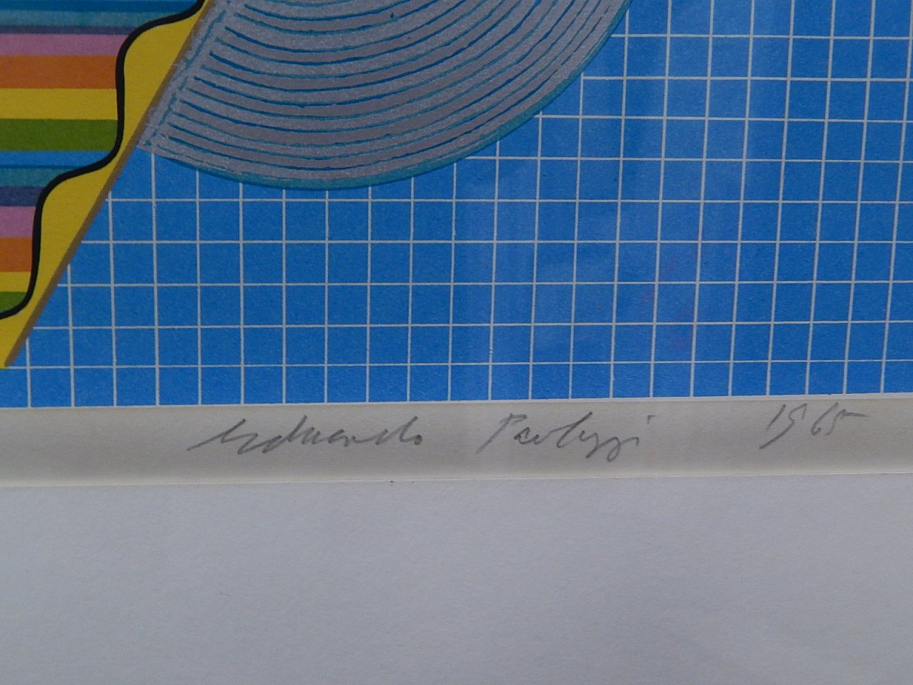 Sir Eduardo Paolozzi Screenprint 1965