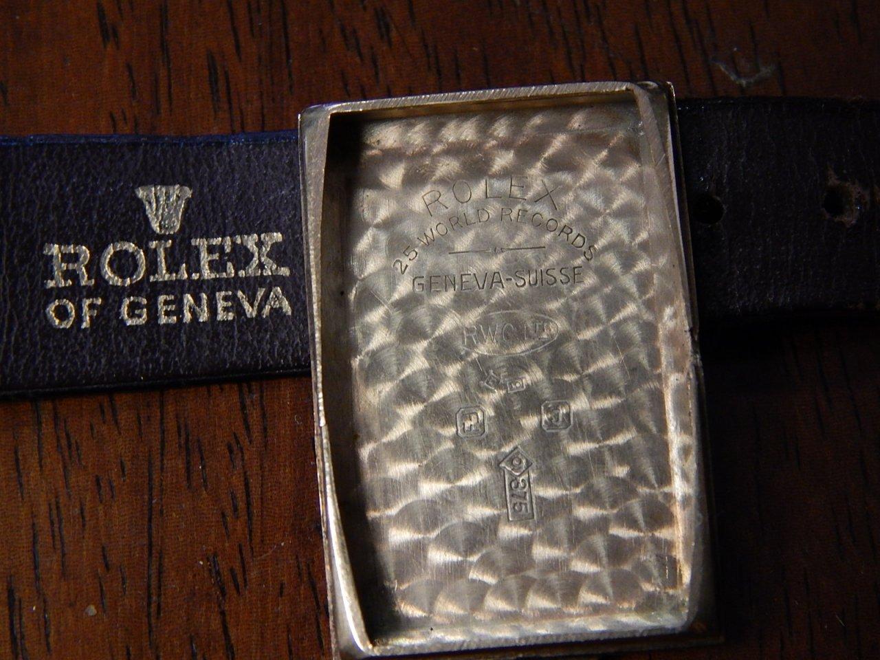 1930s Rolex 9kt Gold Watch