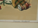 Norman Rockwell Pencil Signed Litho