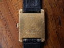 Cartier 18k Gold Watch